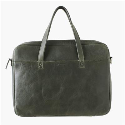 Laptop bag green