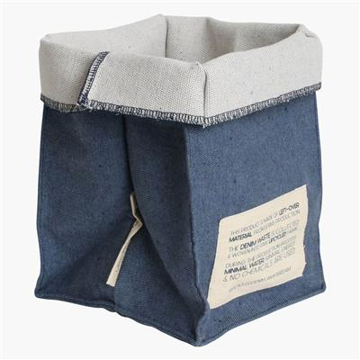 Plant/storage bag large dark blue