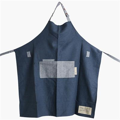 Kitchen apron dark blue