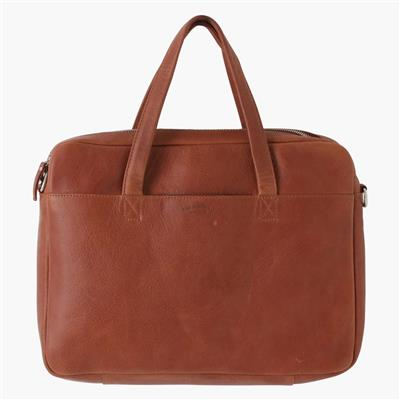 Laptop bag cognac