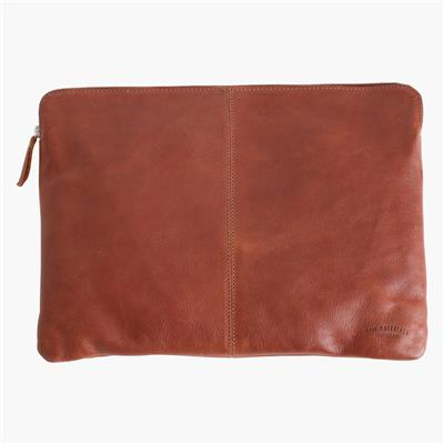 "Laptop sleeve 15"" cognac"