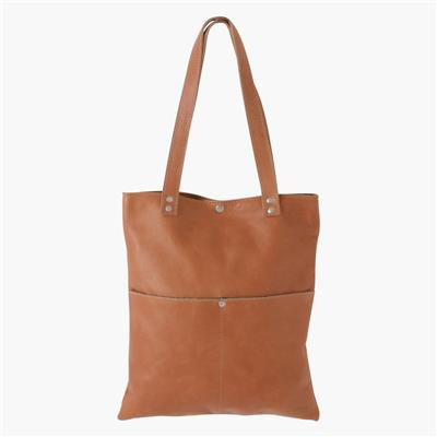 Shopper long camel