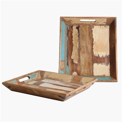 Scrapwood serving tray small