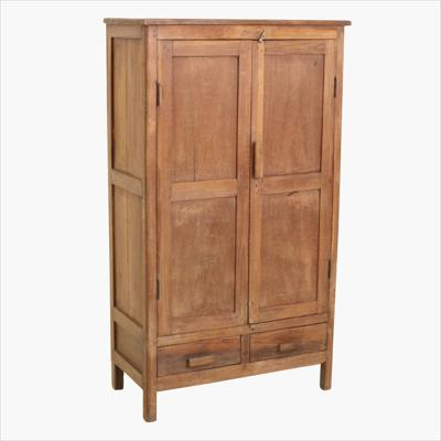 Teak 2 door 2 drawer cabinet