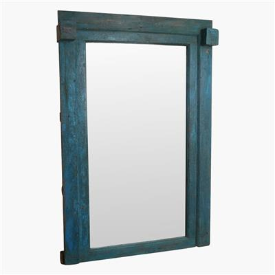 Blue xl original door frame mirror