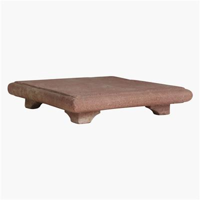 XL red stone pata table