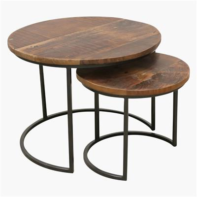 Factory sidetable set/2 small