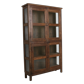 Teak 4-door old patina cabinet