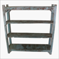 Blue rack 4 shelves