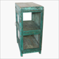Green 3 sides glass cabinet