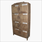 Teak 8 locker with names